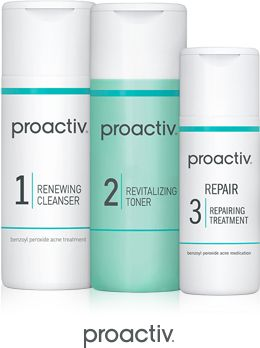 Proactive facial system