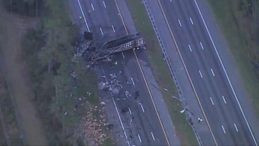 FHP: 5 Kids in Van On Way To Orlando Killed in I-75 Crash