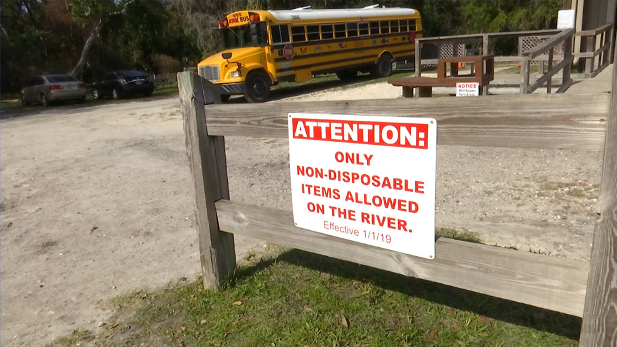New Non-Disposable Policy Implemented at Weeki Wachee