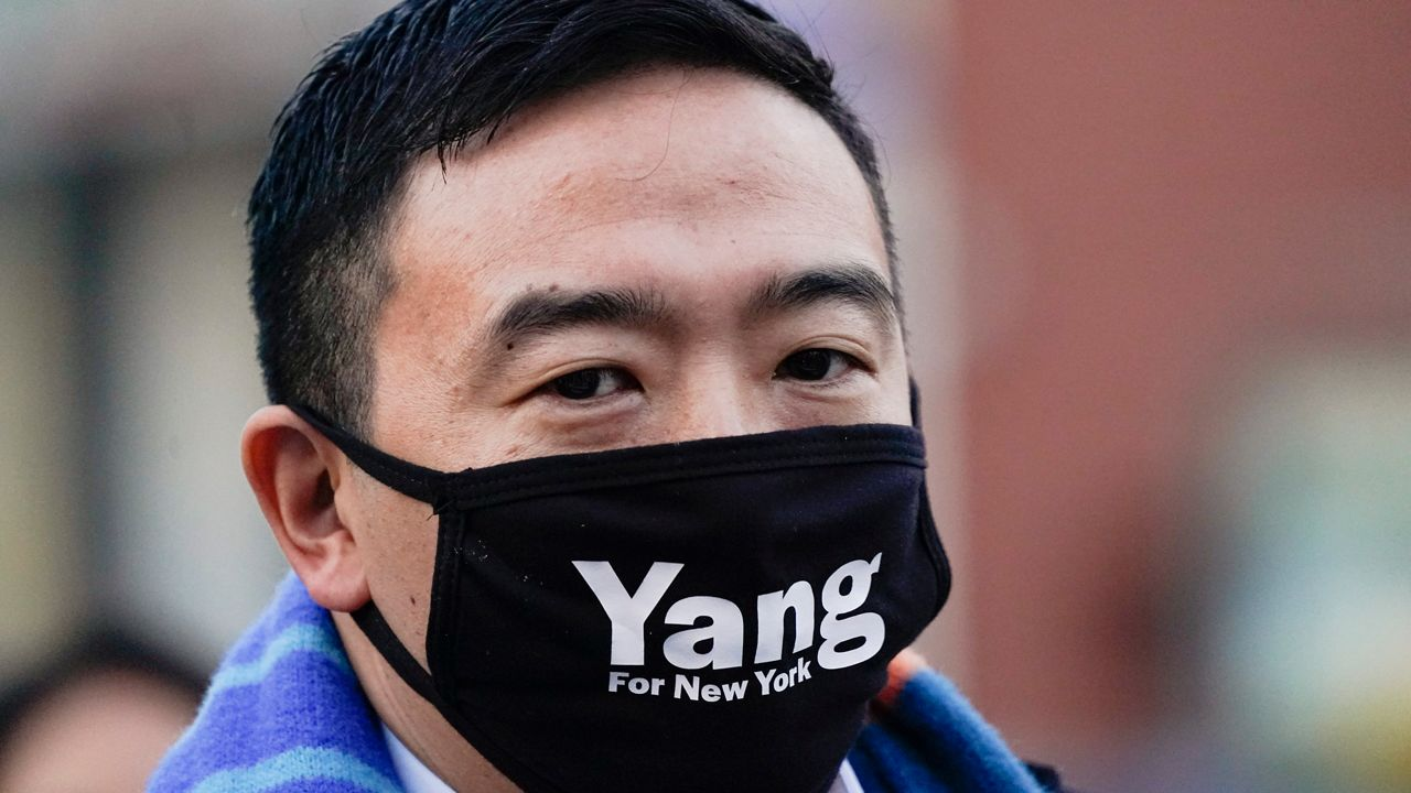 www.ny1.com: Andrew Yang Backs a Civilian Commissioner for the NYPD, Keeping the SHSAT