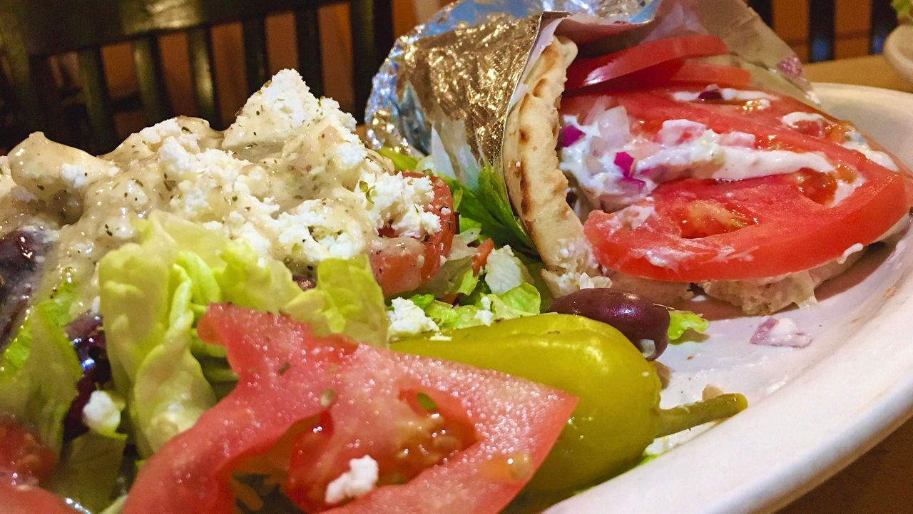 Chef's Kitchen: Argos Diner's Traditional and Veggie Gyros