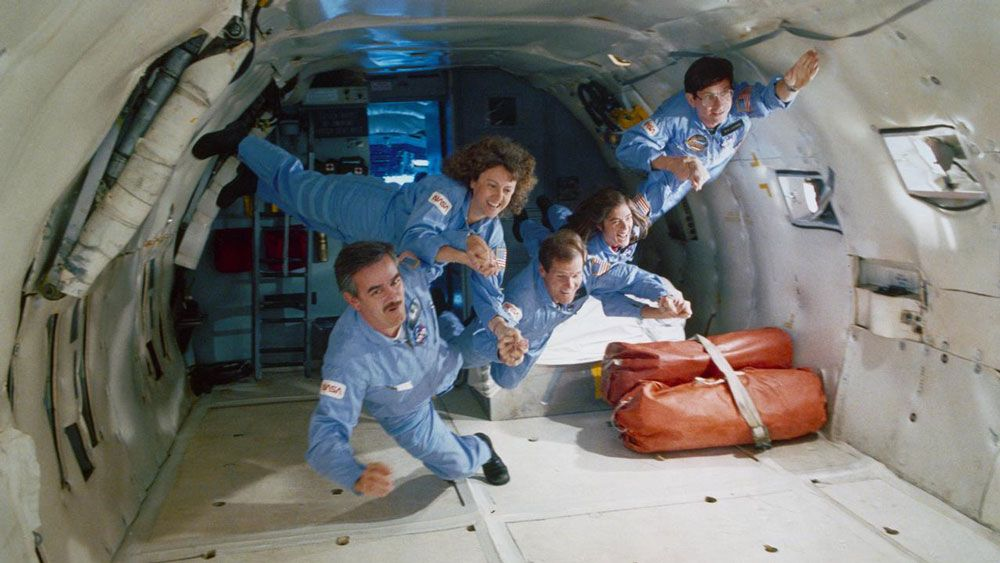 space shuttle challenger 33 years ago - photo #41