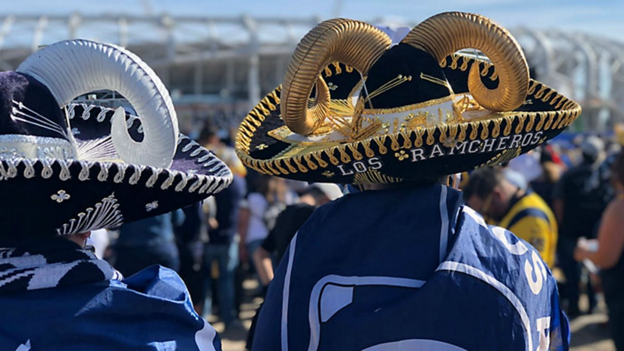 Rams Super Fans Make Fans of Their Own With Hats