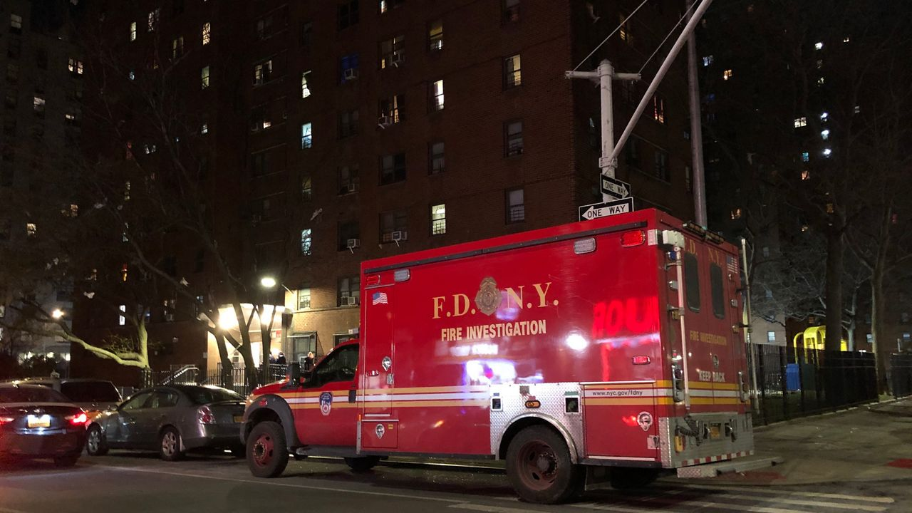 Two People Injured in Fire at a Manhattan NYCHA Building