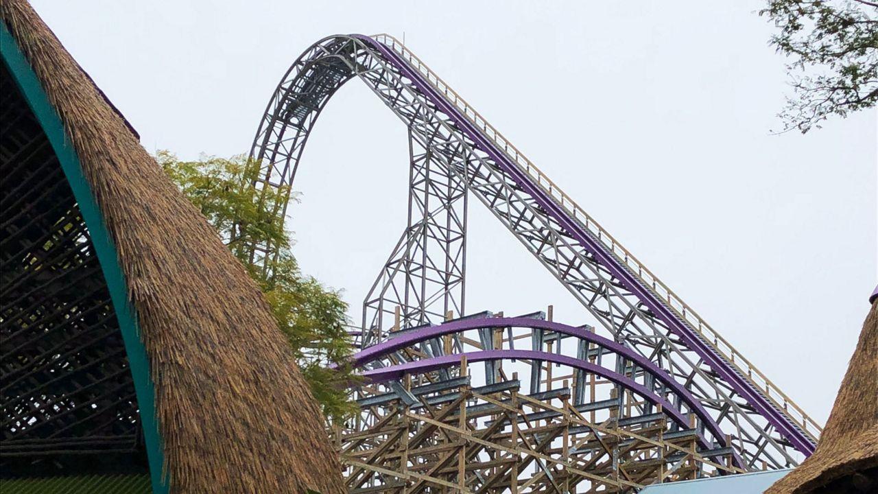 Busch Gardens Offers Peek At Iron Gwazi Coaster