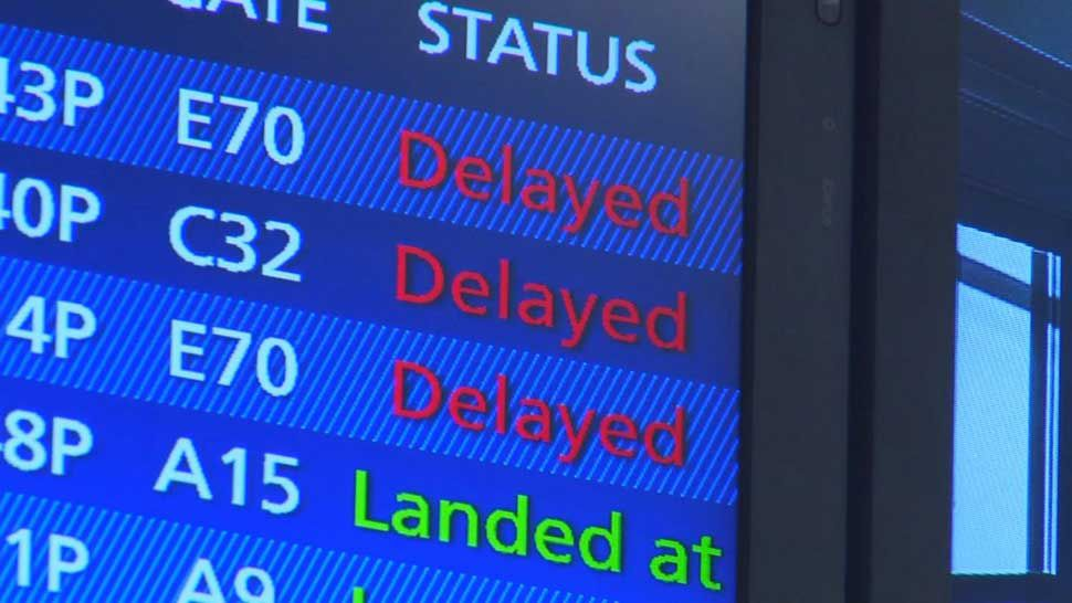 Extreme Cold Conditions Causing Flight Delays, Cancellations