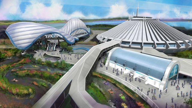 "Permit Hints at ""Tron"" Steel Installation at Disney World"