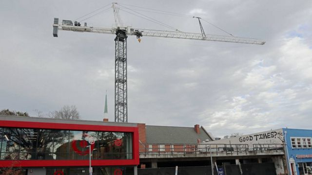 Crane Towering Over NC State Since 2015 To Come Down