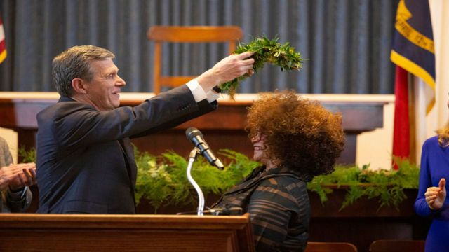 Gov. Cooper Inducts NC's 9th Poet Laureate, 1st African American Inductee