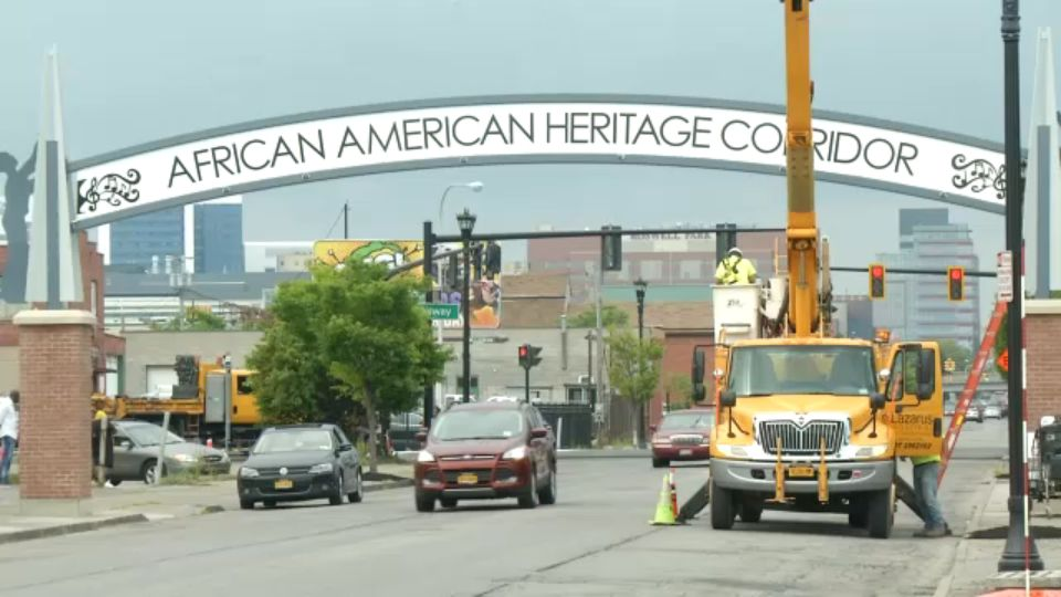 Michigan Street Archway