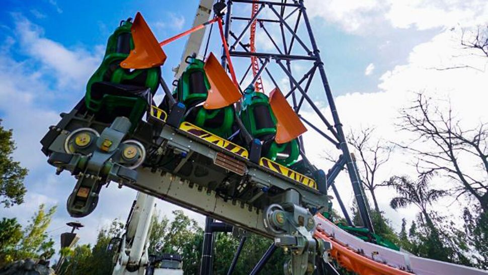 First Look: Tigris Ride Vehicle Arrives at Busch Gardens