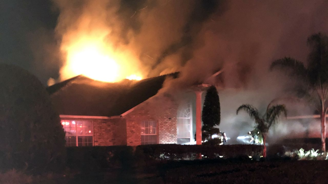Popular Orlando Radio DJ's Home Destroyed by Fire