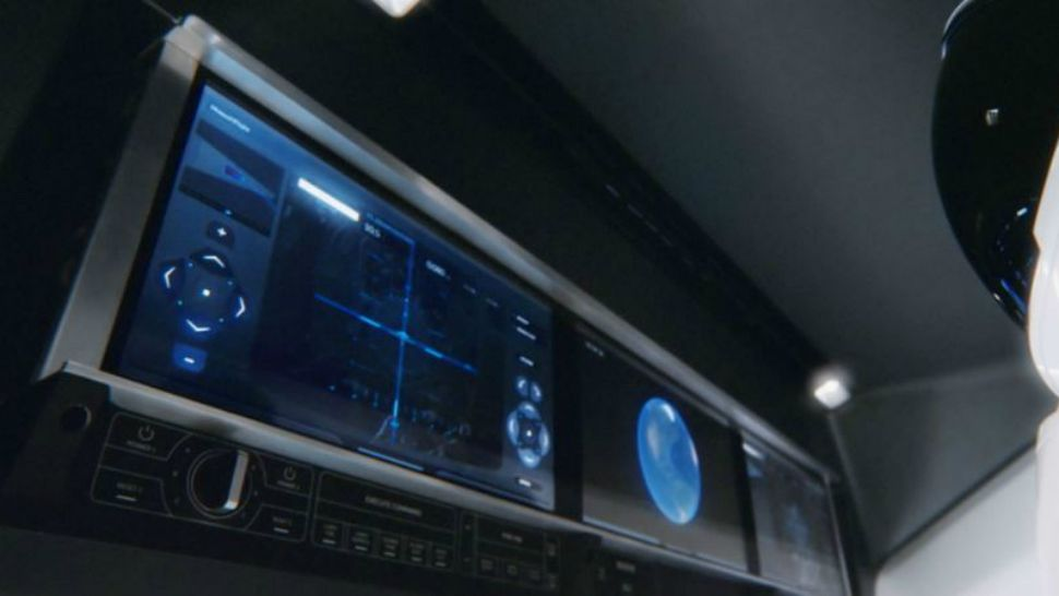 The Environmental Control and Life Support System in the Crew Dragon allows astronauts to set the interior temperature. (SpaceX)