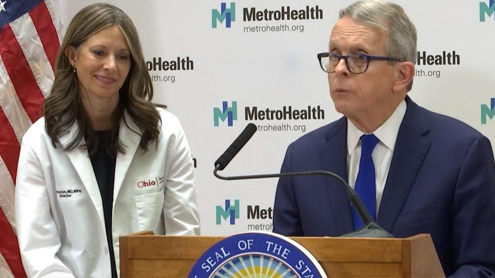 Dewine Addresses Coronavirus At Metrohealth