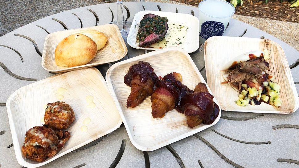 New Menu Items Highlight SeaWorld's Seven Seas Food Fest