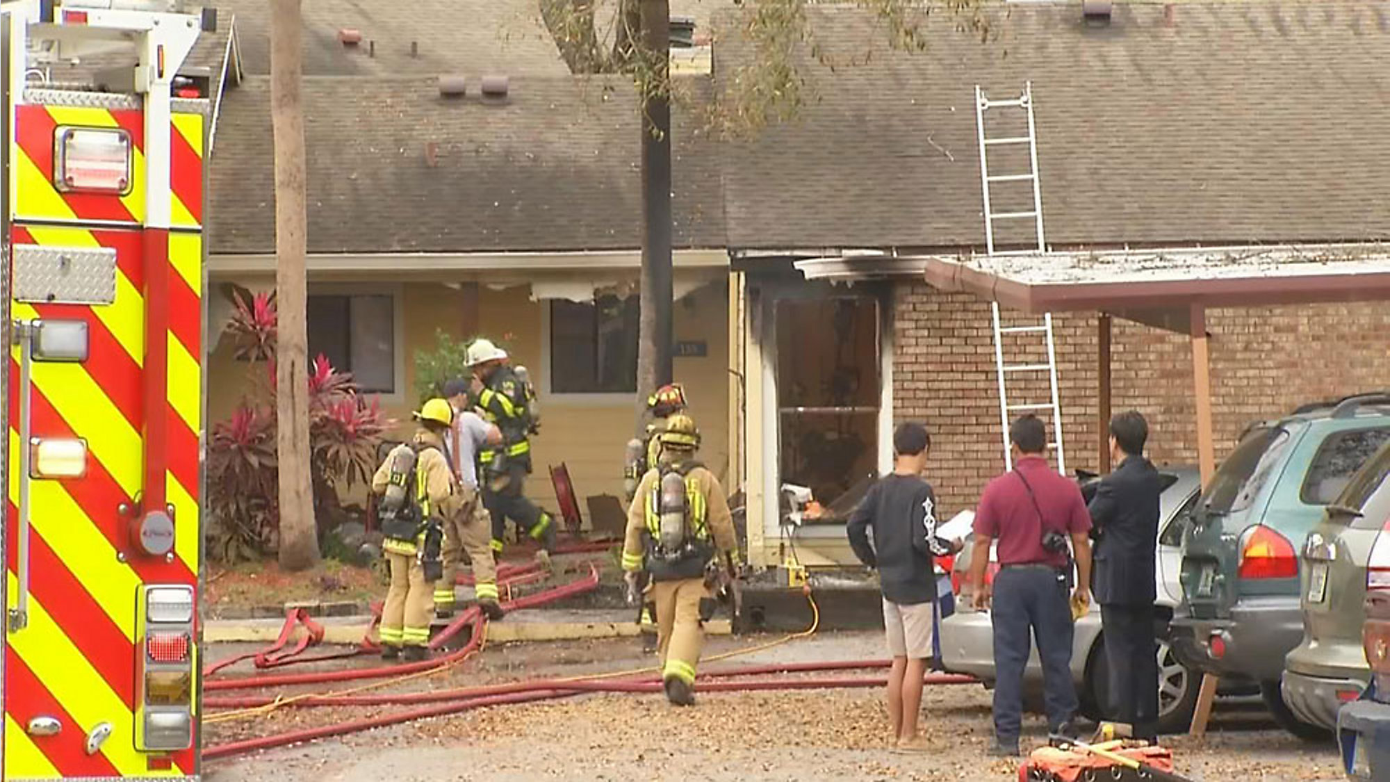 Fire In Altamonte Springs Impacts 4 Apartments