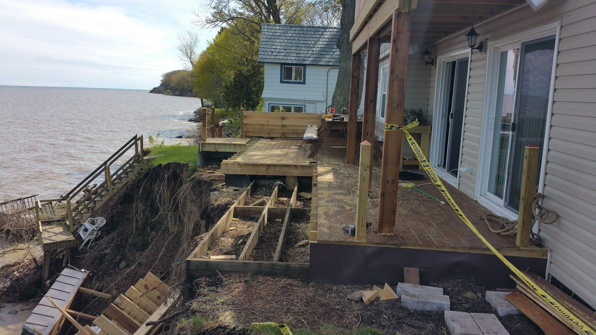 lake ontario homeowner damage