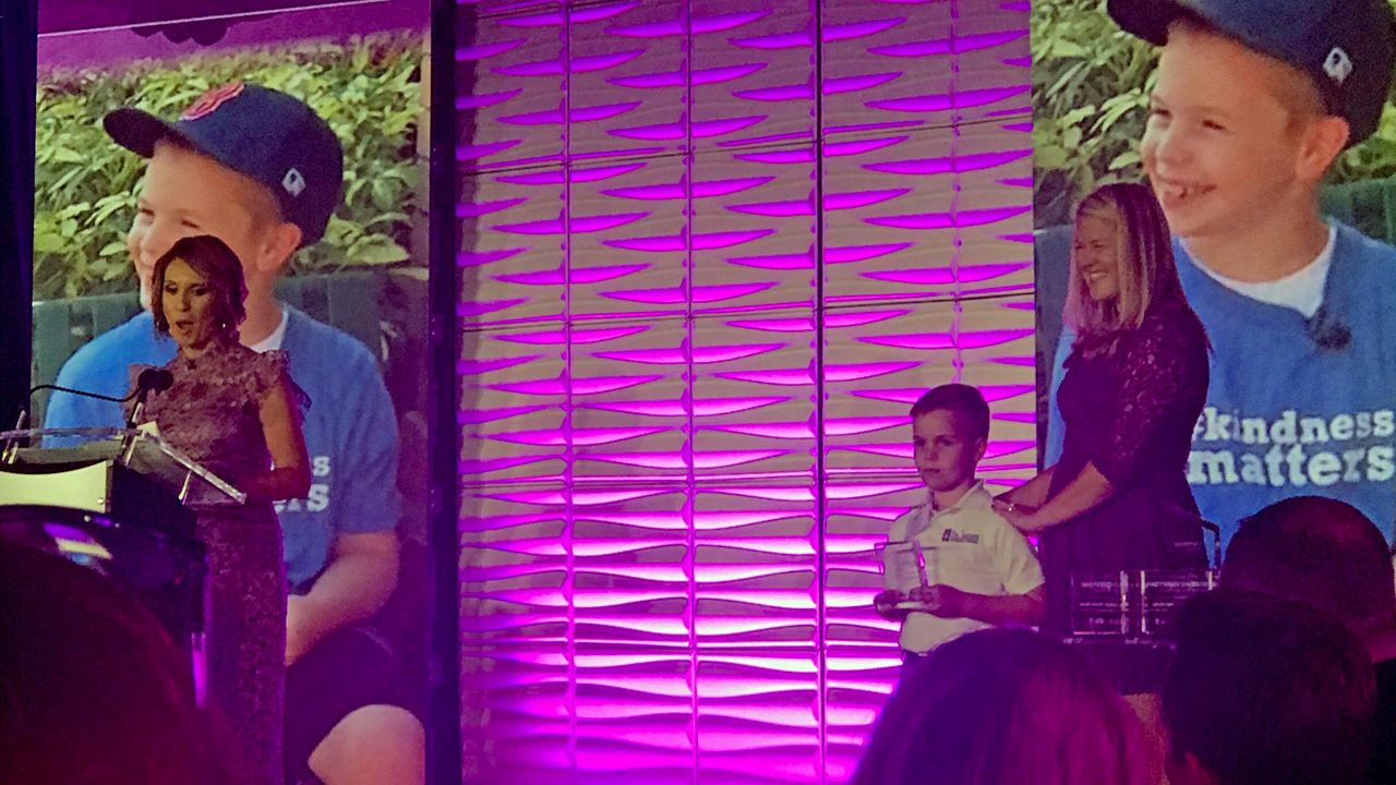 Spectrum News 13's Everyday Hero Matthew Neve won our 'Young Hero of the Year' award.