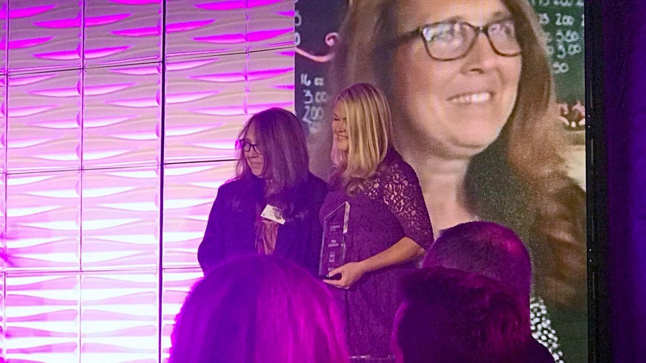 Spectrum News 13's Everyday Hero Tina Kadolph won our 'Hero of the Year' award.