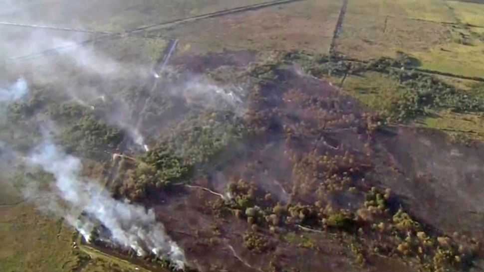 Wildfire Forces Closure of SR 407 in Brevard County