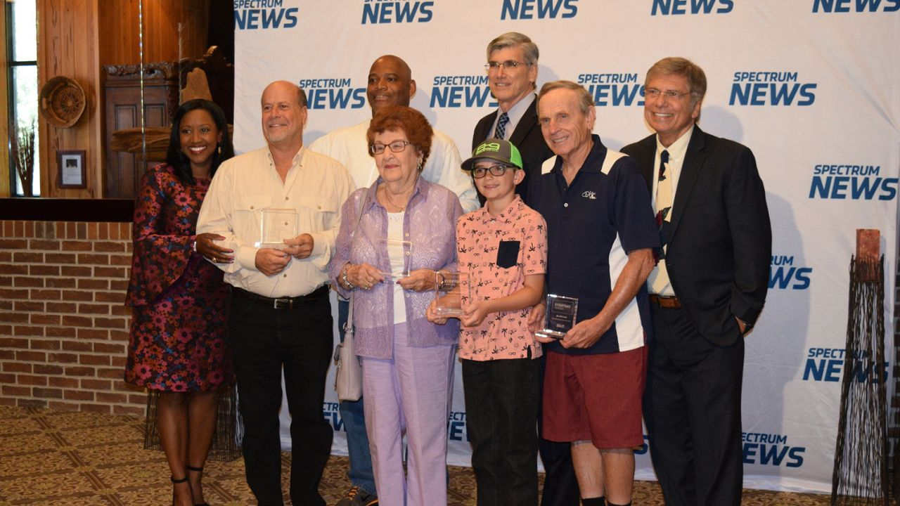 Dozens of our 2018 Everyday Heroes, their friends, family, and loved ones joined us at Pepin's Hospitality Center in Tampa for our annual 'Salute to Everyday Heroes' luncheon. (Kirstin Thomas/Spectrum Bay News 9)