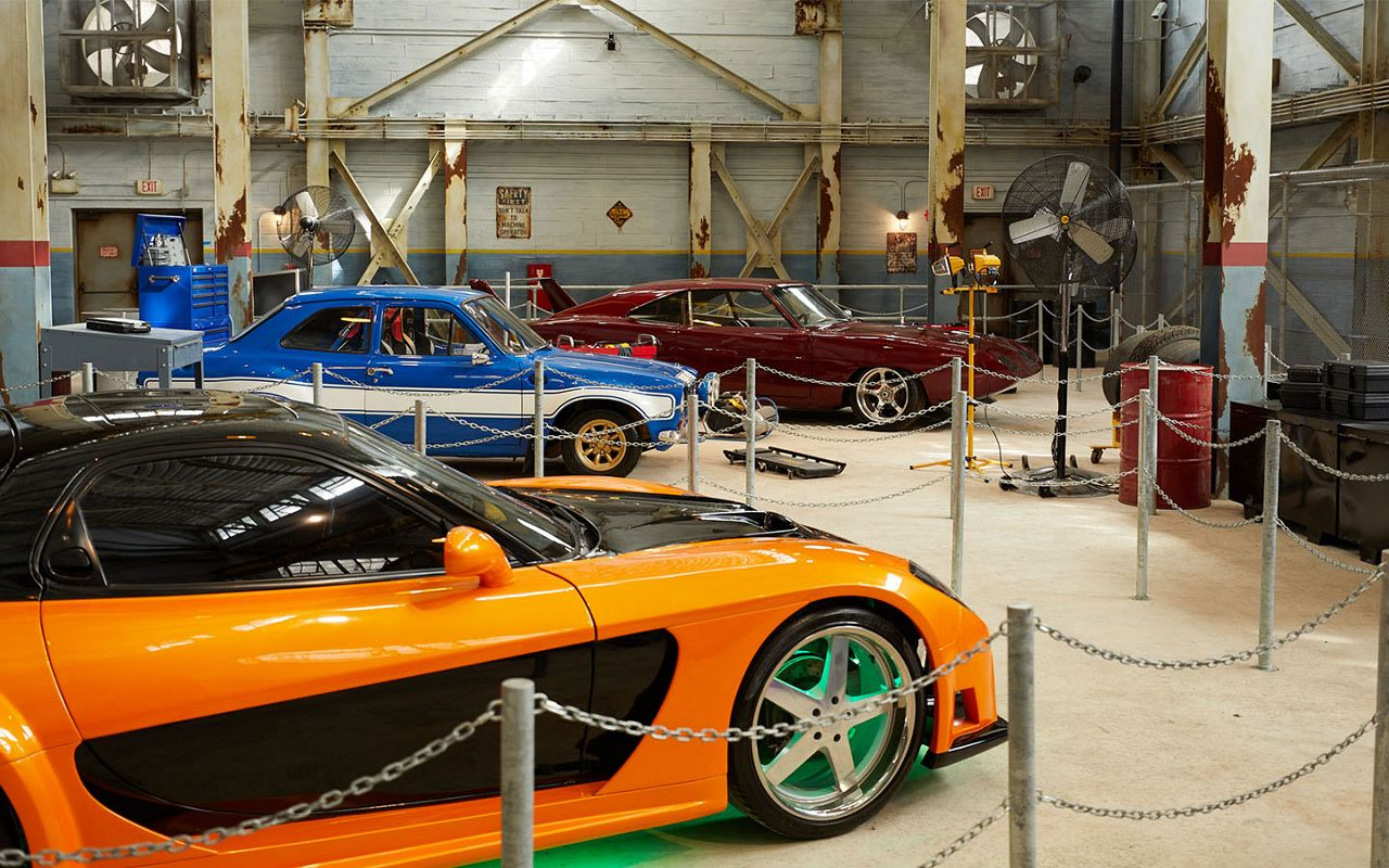 Universal Orlando offered a sneak peek inside the new Fast and Furious -- Supercharged ride. The ride will immerse guests inside the 'Fast' world. (Universal Orlando)