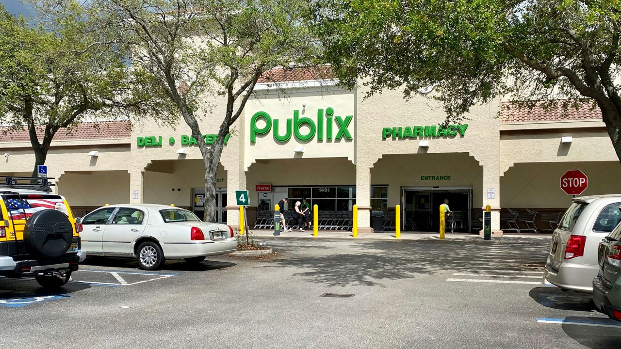 Vaccination registration slots Publix, all booked on Wednesday