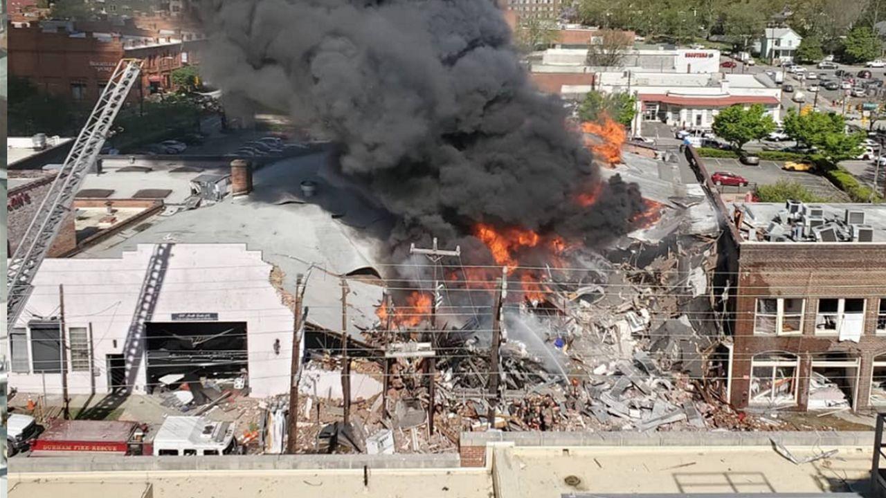 gas explosion in durham nc