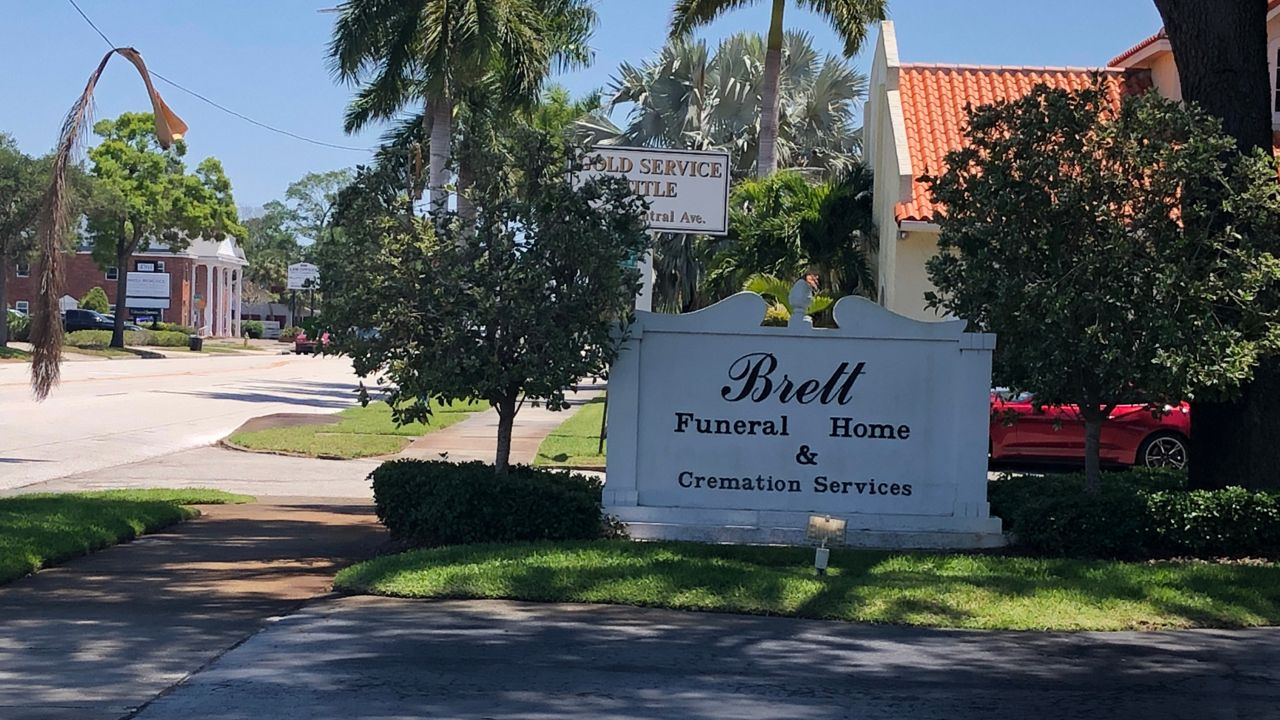 Funeral homes helping families cope with COVID - from a distance