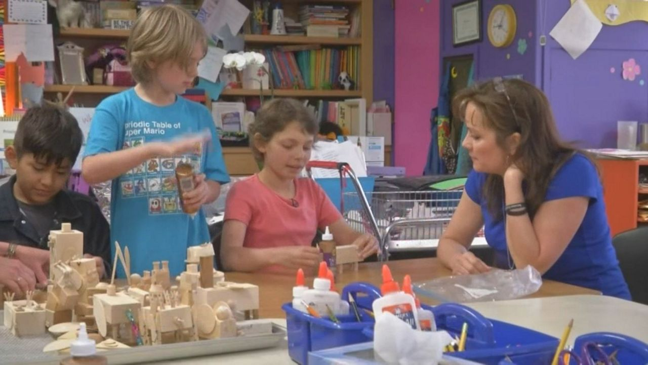 Young Cancer Survivor Returns to Elementary School