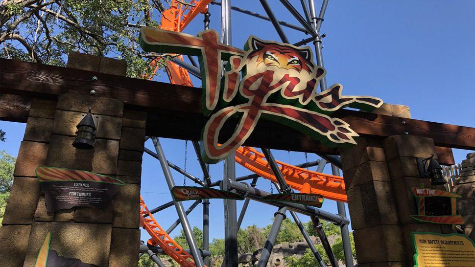 Watch Busch Gardens Shares Preview Of Tigris Coaster