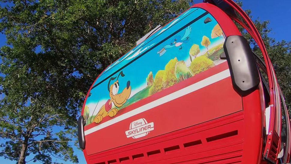 Disney Leaks More Tidbits About Skyliner Gondolas