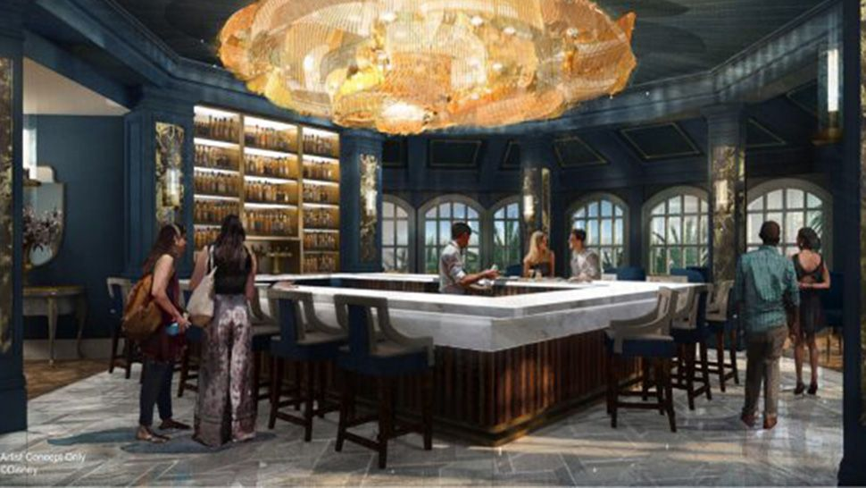 "Disney's Grand Floridian Getting ""Beauty and the Beast"" Bar"