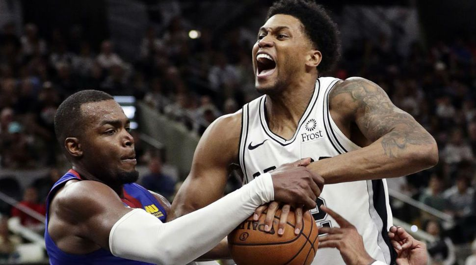 sports shoes 0fc85 20bf6 Spurs Fall Flat, Nuggets Win 117-103