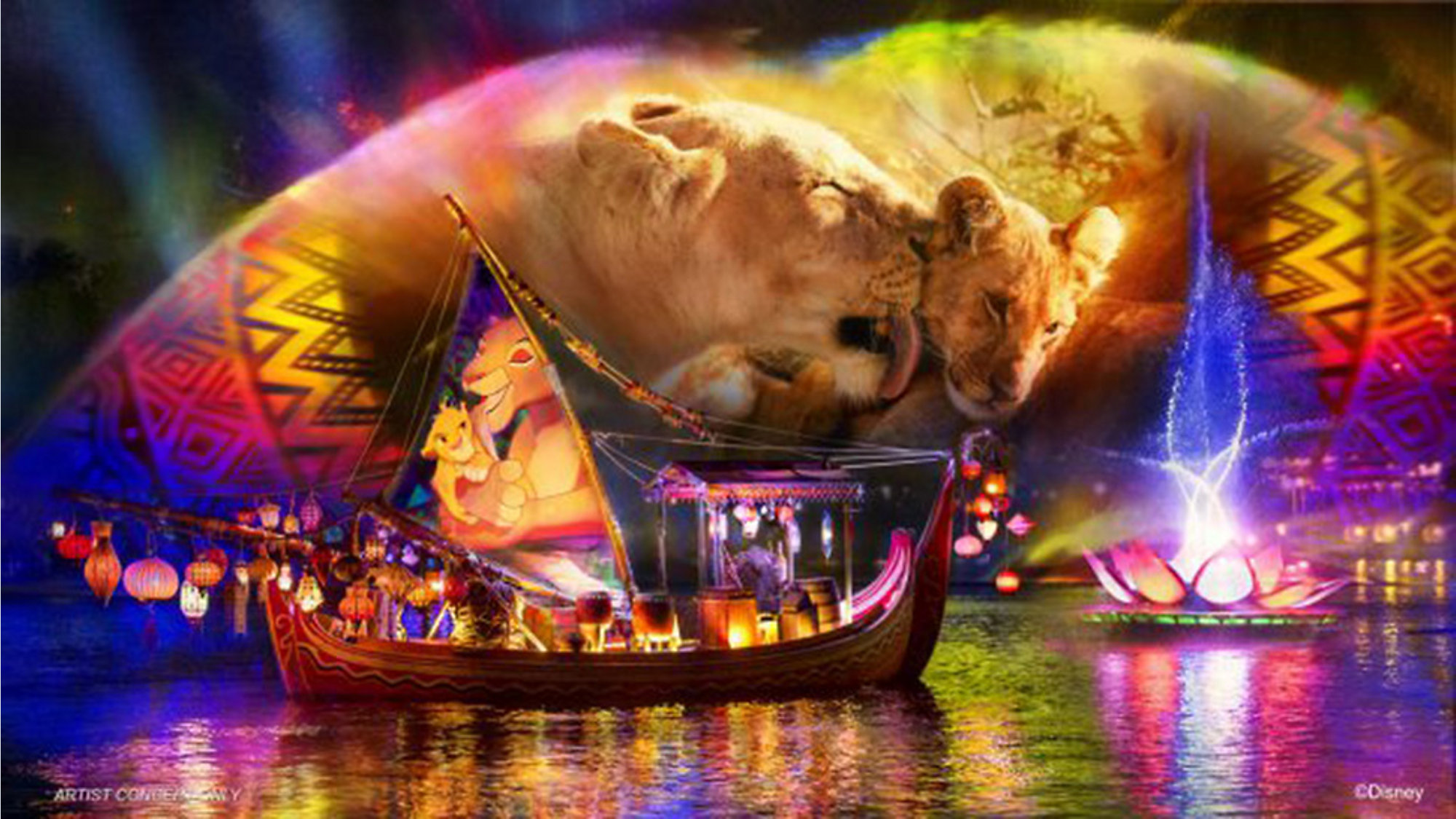 Revamped Rivers Of Light Coming To Disney S Animal Kingdom