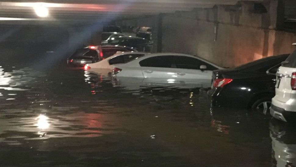Dallas Airport Parking Garage Flooding