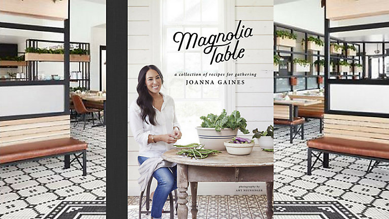 Joanna Gaines Debuts Cookbook Talks PostFixer Upper Plans - Magnolia table restaurant