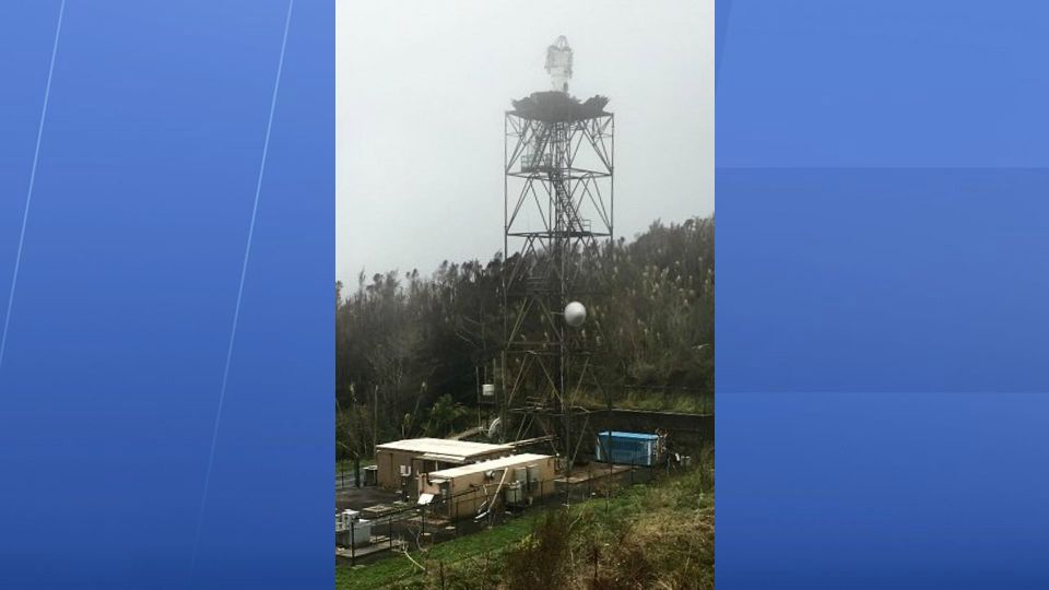 Damage to the WSR-88D Doppler Radar after Hurricane Maria