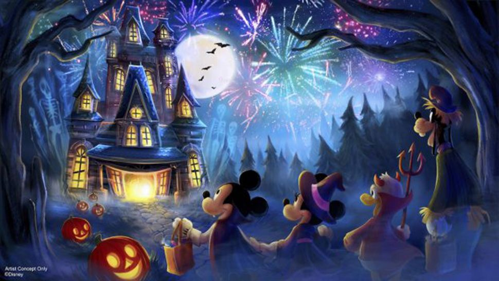New Halloween Fireworks Show Set For Disney S Magic Kingdom
