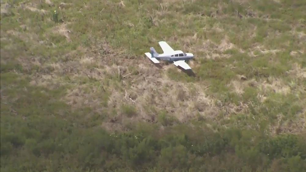2 Survive Small Plane's Hard Landing in Brevard County
