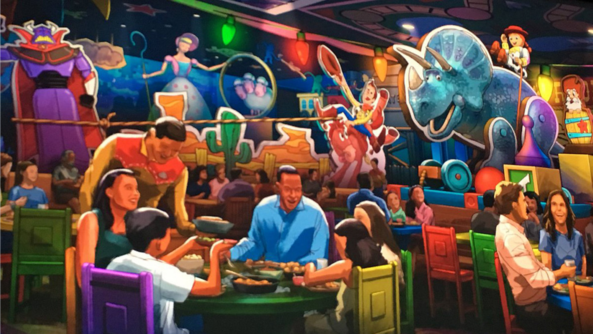 New Restaurant Coming To Disney World S Toy Story Land