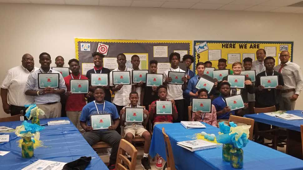 Polk Co. Schools Focuses on Mentoring at Lake Gibson Middle