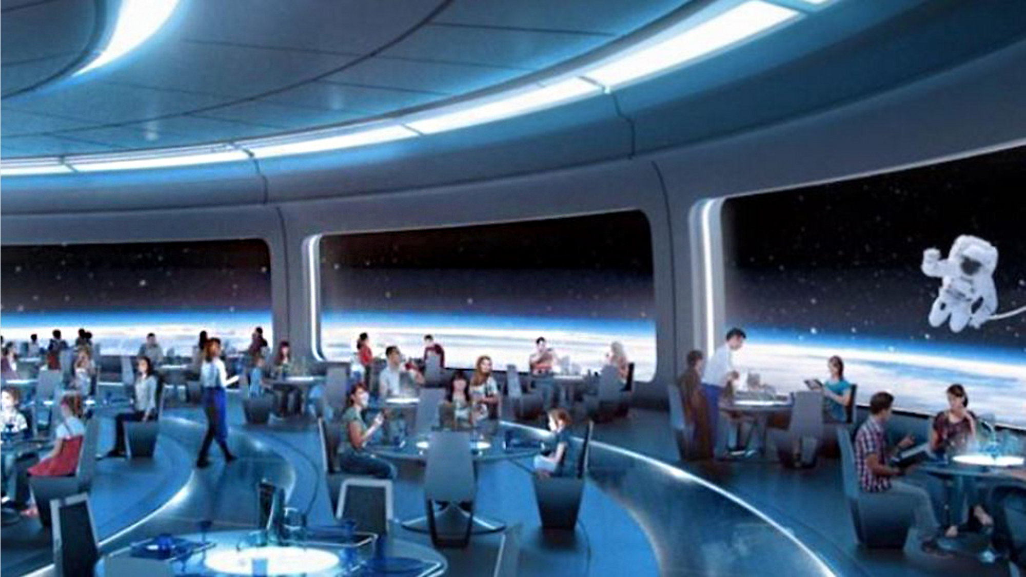 Space Themed Restaurant To Open At Epcot Later This Year