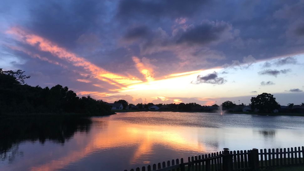 Sent to us via the Spectrum News 13 app: West Melbourne saw an astounding sunset on Thursday, May 25, 2018. (Jose Bon, viewer)