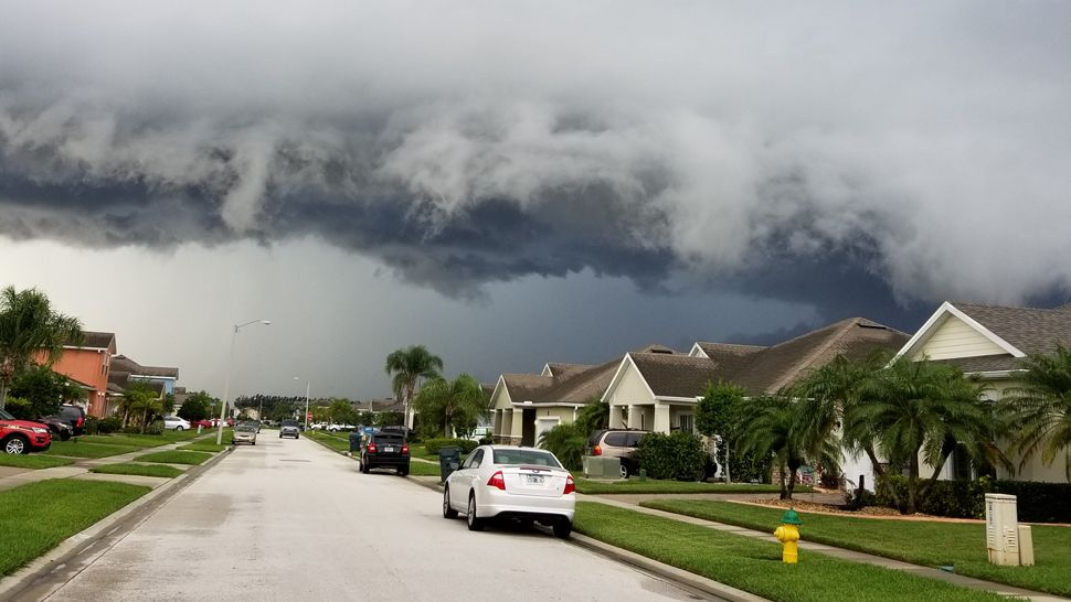 Submitted via Spectrum News 13 app: Rockledge saw some impressive storm clouds on Tuesday, May 29, 2018. (Ray Hutchinson, viewer)
