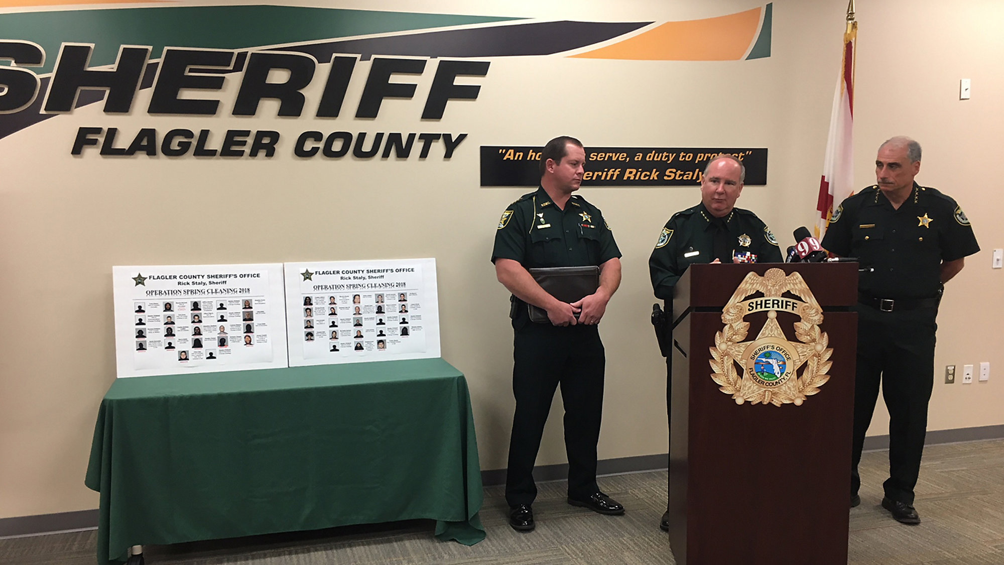 Major drug crackdown leads to 45 arrests across Flagler