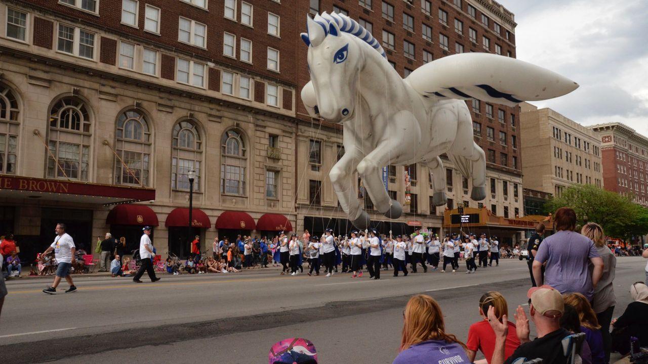 KDF Pegasus Parade