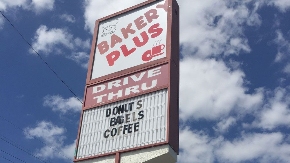 The Bakery Plus sign you'll see along Michigan Street in Orlando. (Christie Zizo, Staff)