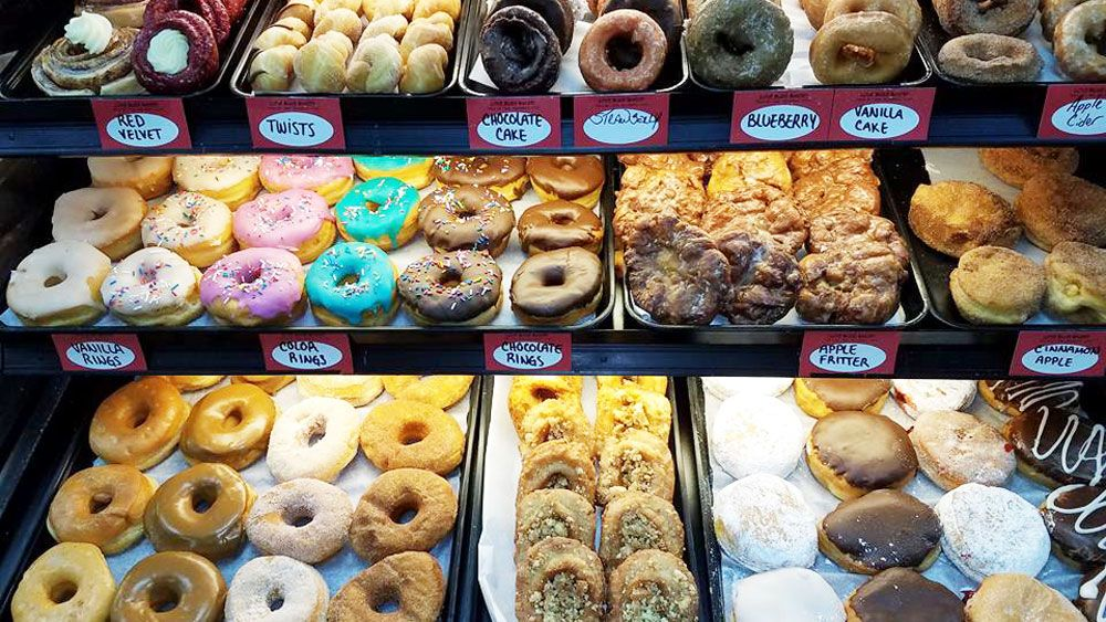 Love Bugs Donuts and Bakery has two locations in Brevard County and is so popular that they sell out fast in the mornings. (Love Bugs Donuts)