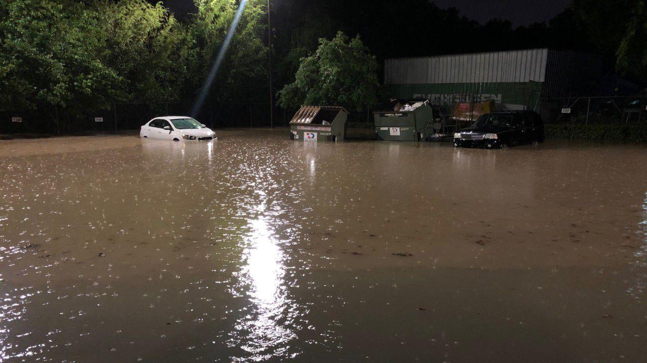 Cap Metro's Southeast Austin MetroAccess Facility Floods
